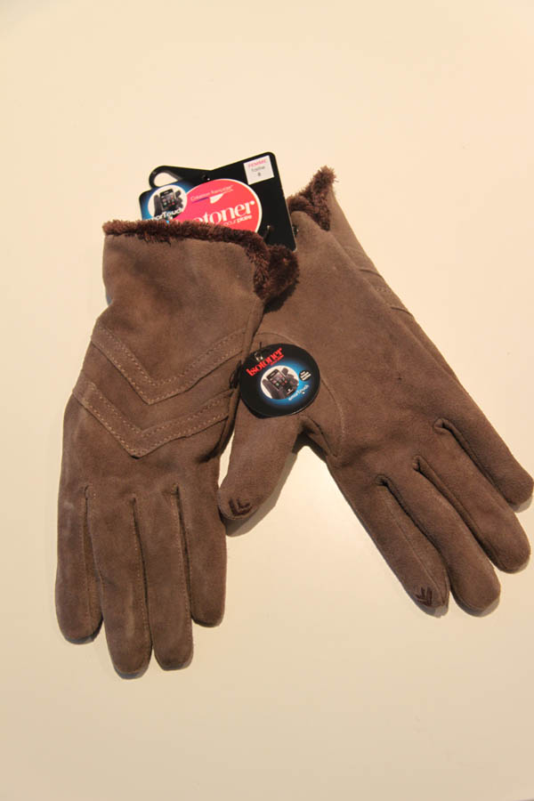 lagoon-embourg-isotoner-gants velours gris-smart touch