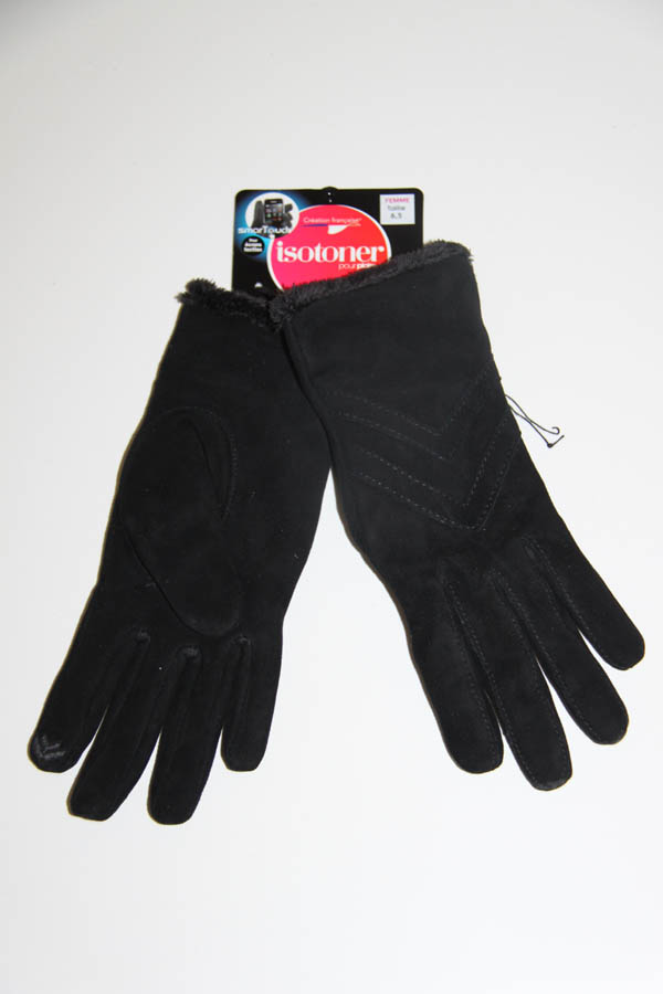 lagoon-embourg-gants velours noirs-phone touch